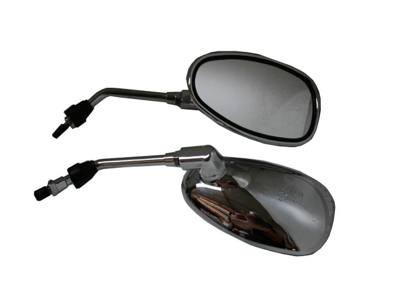 Καθρέπτες Τιμονιού 988 Χρώμιο Για Μοτοσυκλετα Scooter ATV